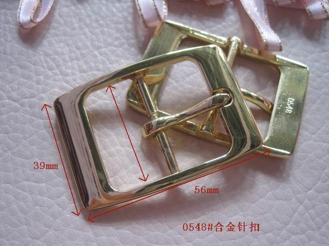 合金皮带扣针扣挂镀金色白叻色厂家直销