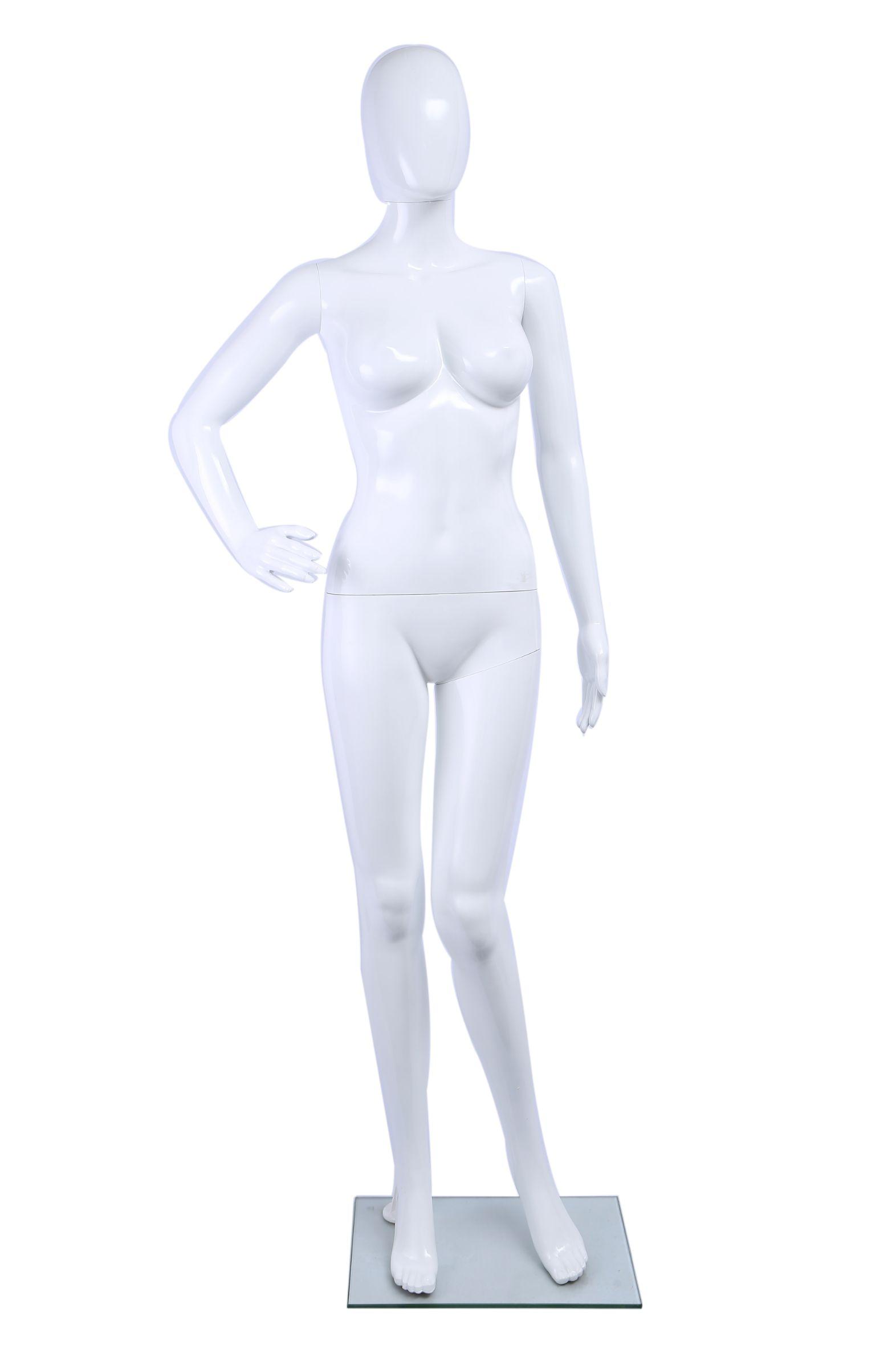 衣架模特厂家直销高档喷漆亮光白色高光女模婚纱展示道具