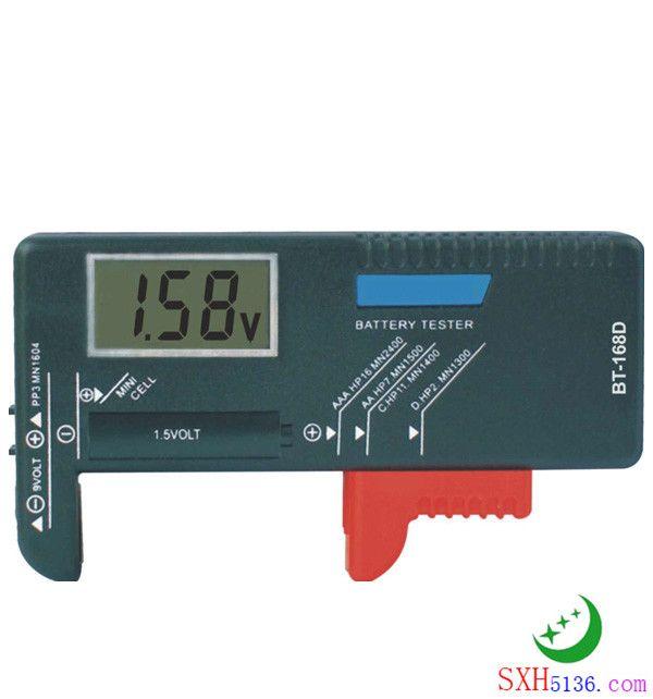 bt-168D数显电池电压电量测试器,电池测试仪,测电池