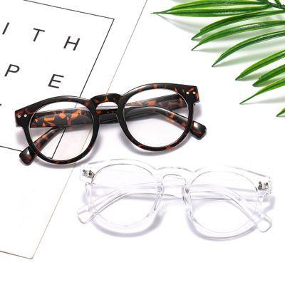经典眼镜框 大框显脸小简约光学镜 时尚平光护目镜
