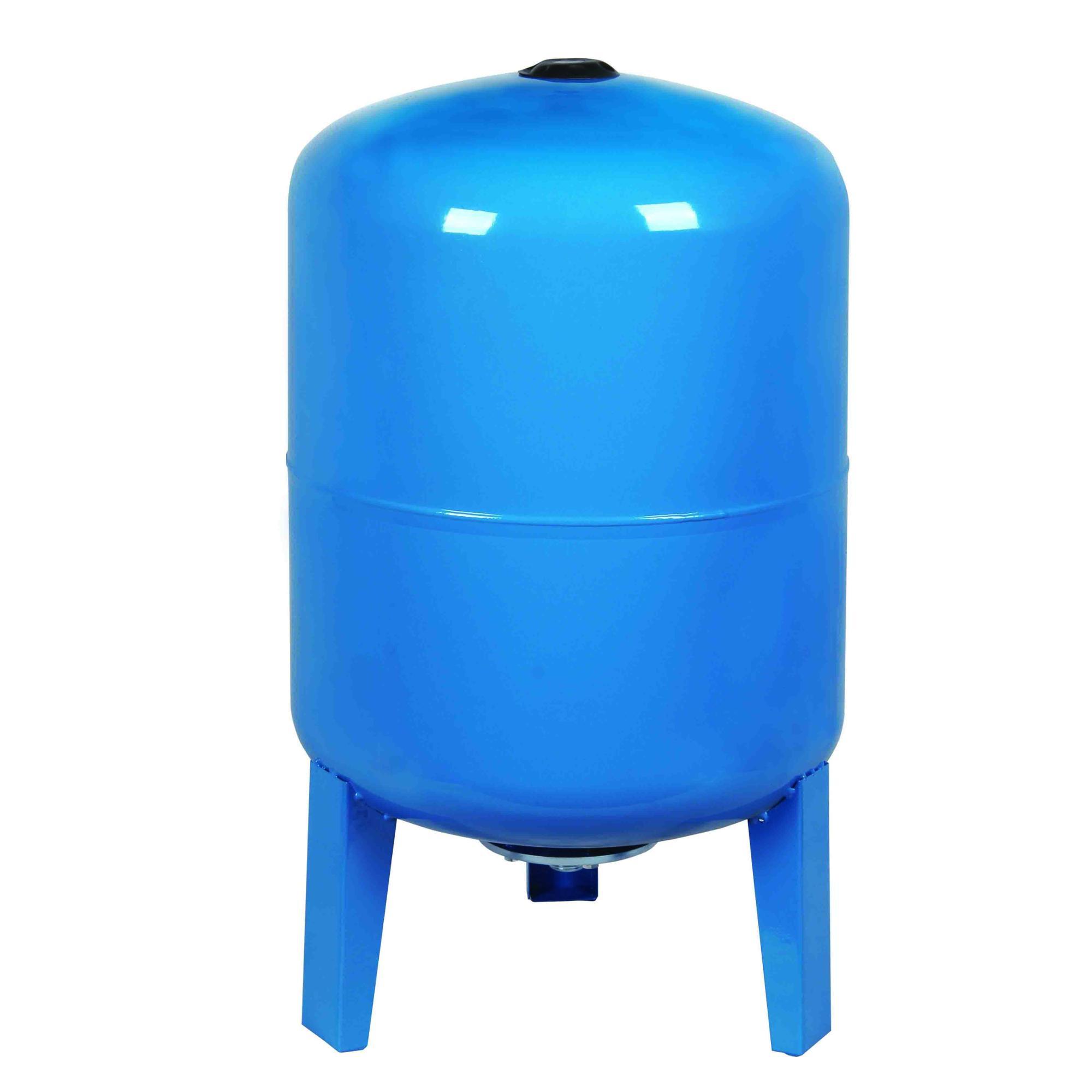 50L vertical type carbon steel blue color pressure tank
