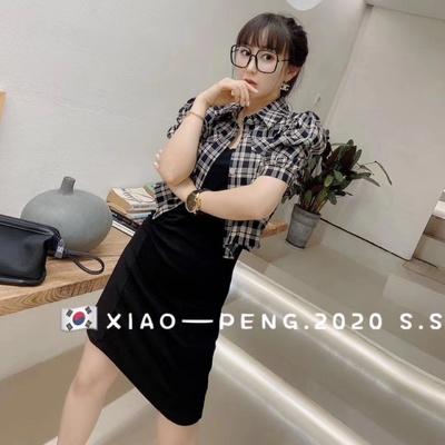 2020韩式女士休闲连衣裙