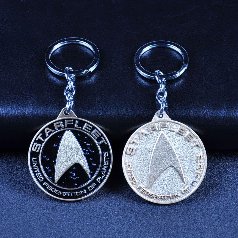 星际迷航星际舰队合金钥匙扣挂件外贸速卖通