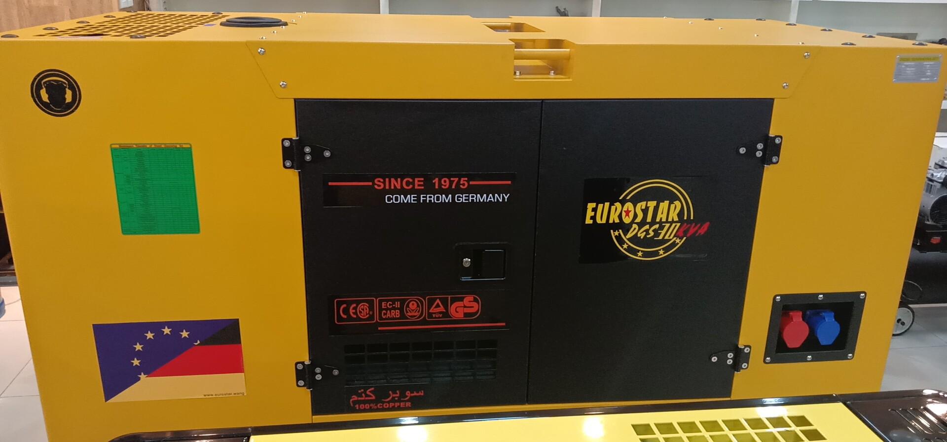 EUROSTAR 24KW/30KVA 静音柴油机 三相 带ATS