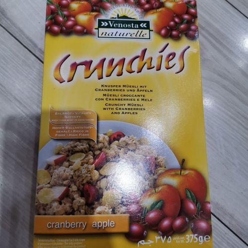 维欧特蔓越莓苹果谷物片