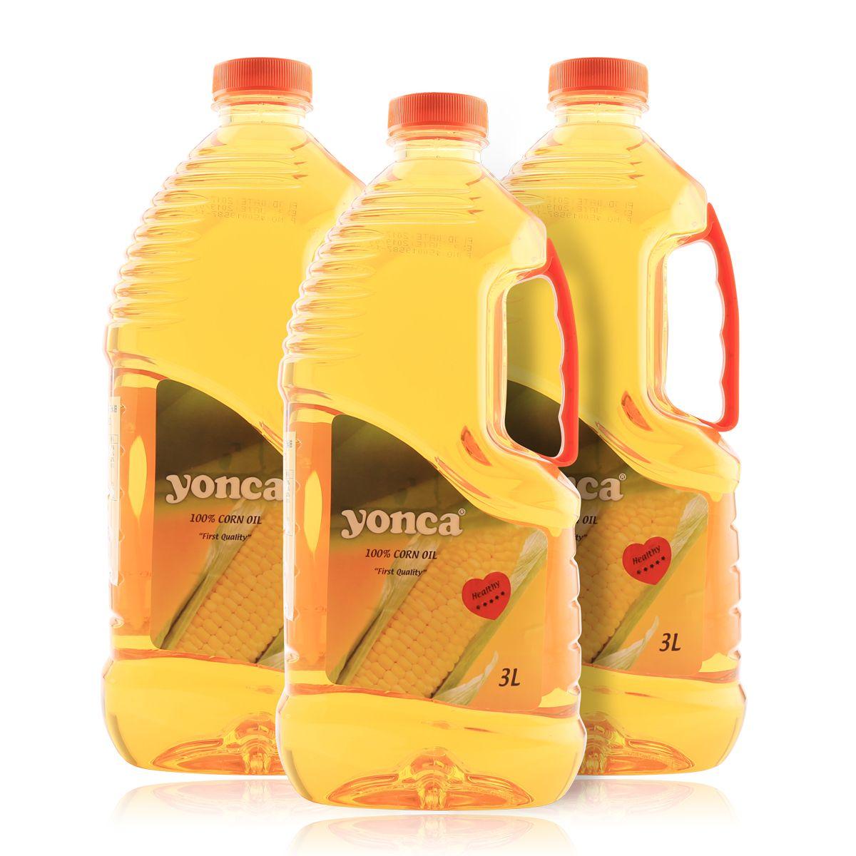 原装进口非转基因玉米油一级食用油物理压榨健康礼品家用小包装3L