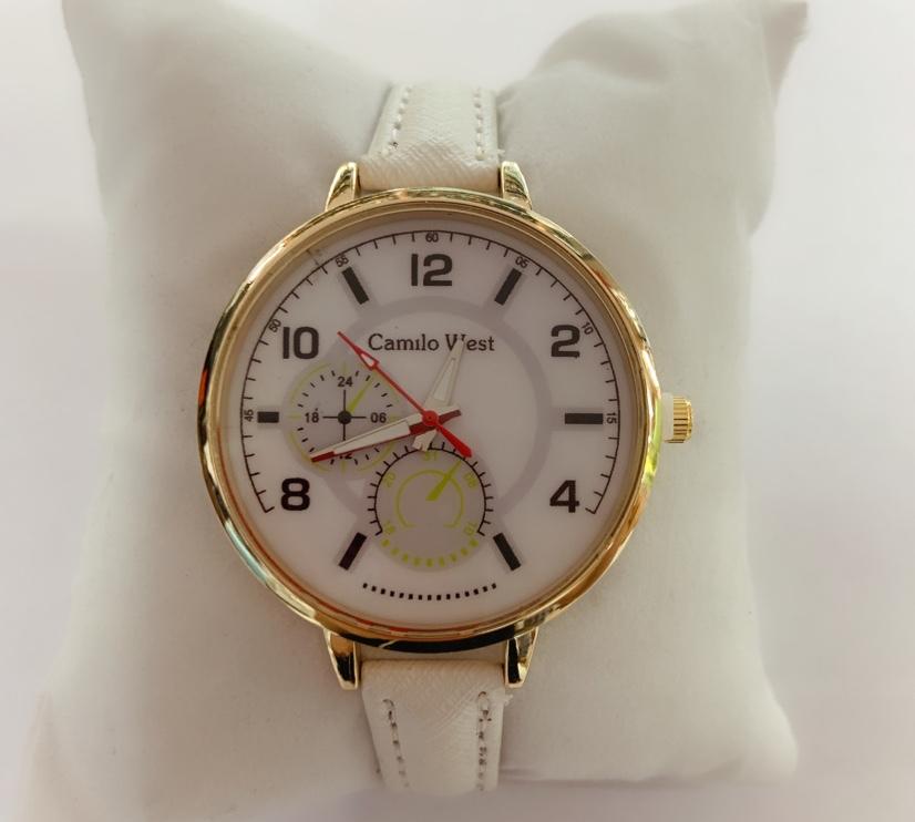 女士休闲皮带手表数字表