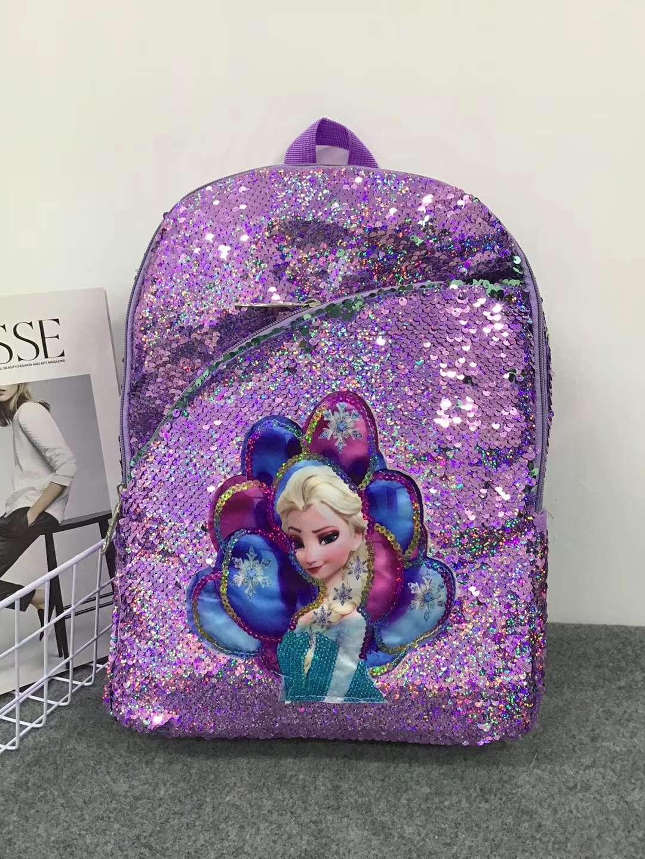 女童包包2020书包公主时尚包可爱潮小孩儿童韩版洋气亮片双肩包