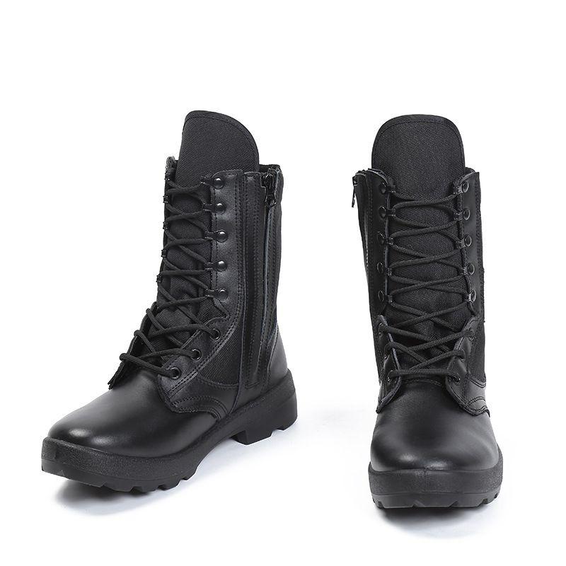 夏季轻便网眼作战靴个性特种兵透气户外靴登山防水耐磨军靴批发