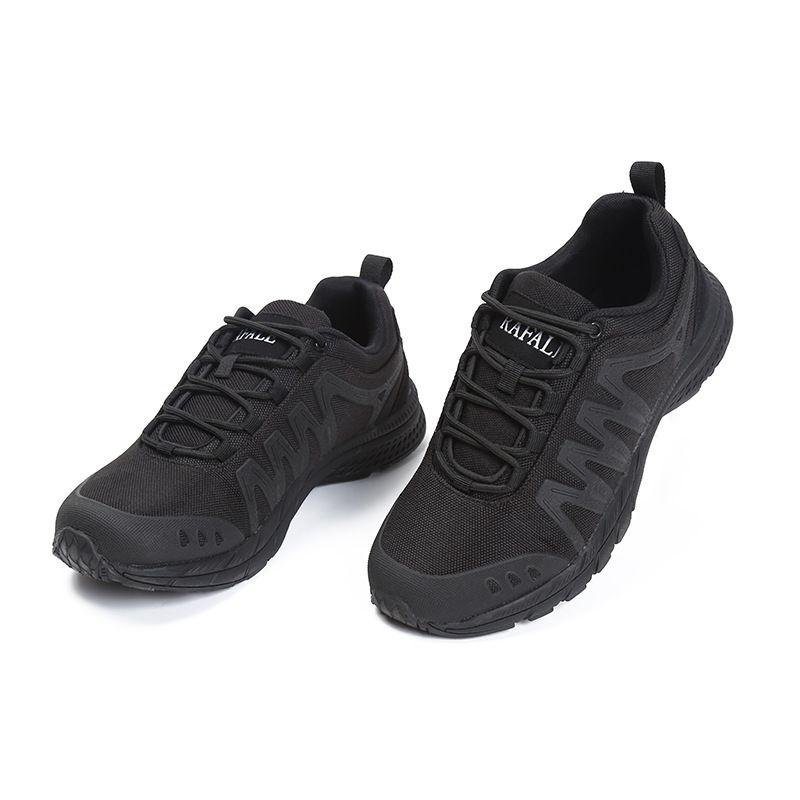 2020新款春季低帮透气网布鞋户外登山鞋前系带男士轻便徒步鞋批发