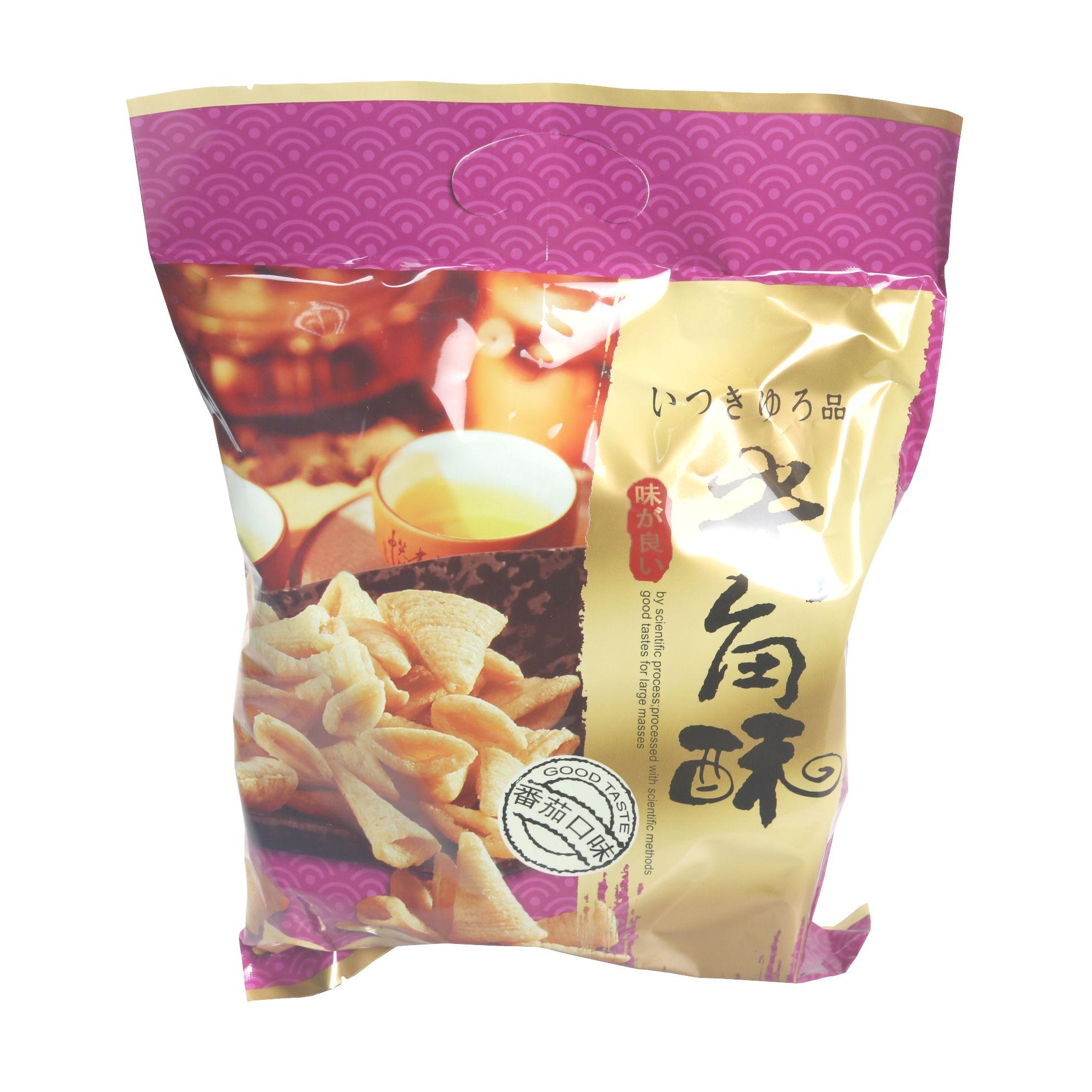 小米美莎尖角酥252g海底捞同款小吃香脆酥薯片(番茄味)