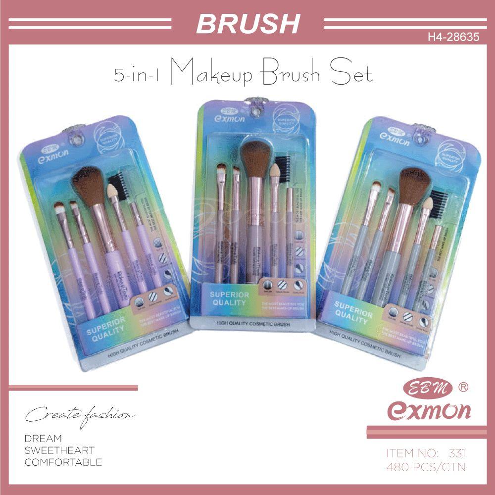 EBM化妆刷套装彩妆工具腮红刷眼影刷眉刷海绵眼影棒睫毛梳331