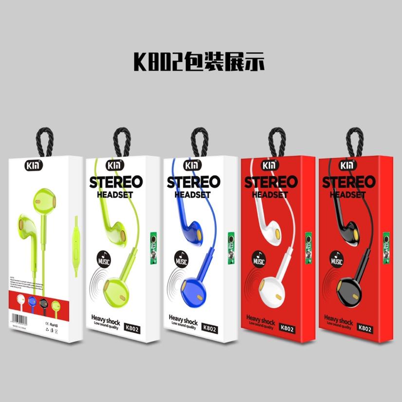 K802带线手机耳机