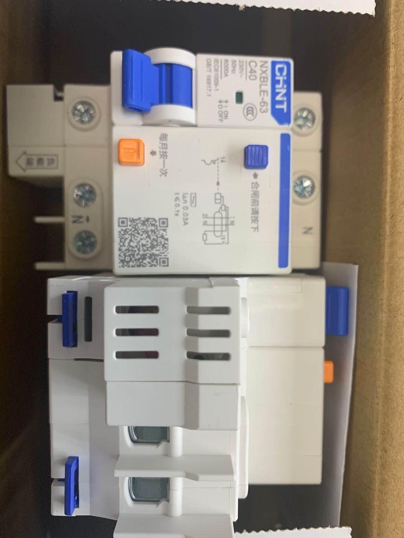 正泰断路器NXBLE-63 1P+N C 40A 30mA