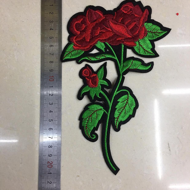 22cm双朵玫瑰