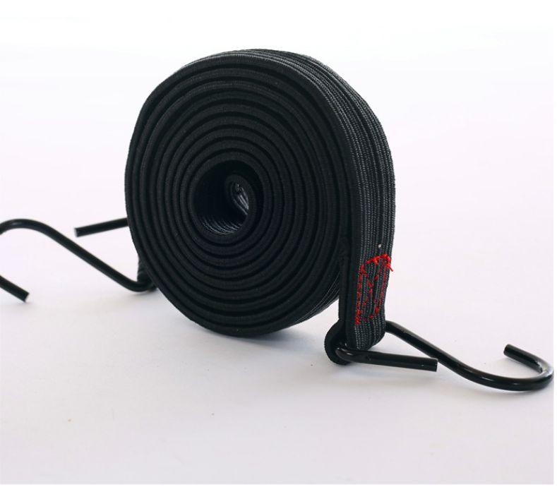 25mm1.5米行李绳五彩弹性绑绳摩托车电动车弹力绳货物捆绑绳机车