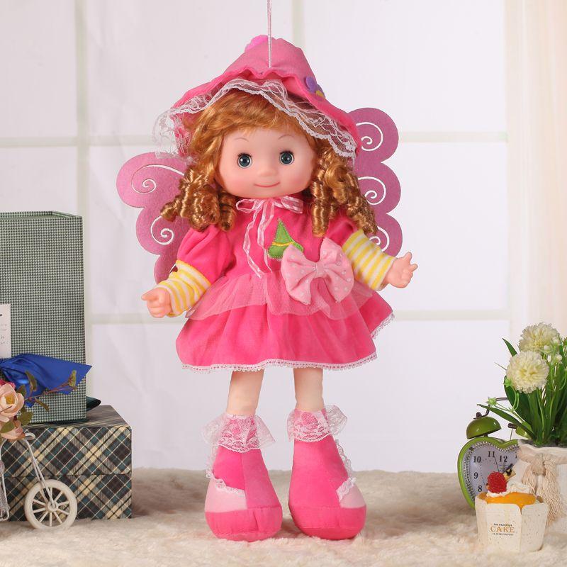 白雪公主仿真天使娃娃软胶发声睡觉逼真娃娃儿童玩具厂家货源批发