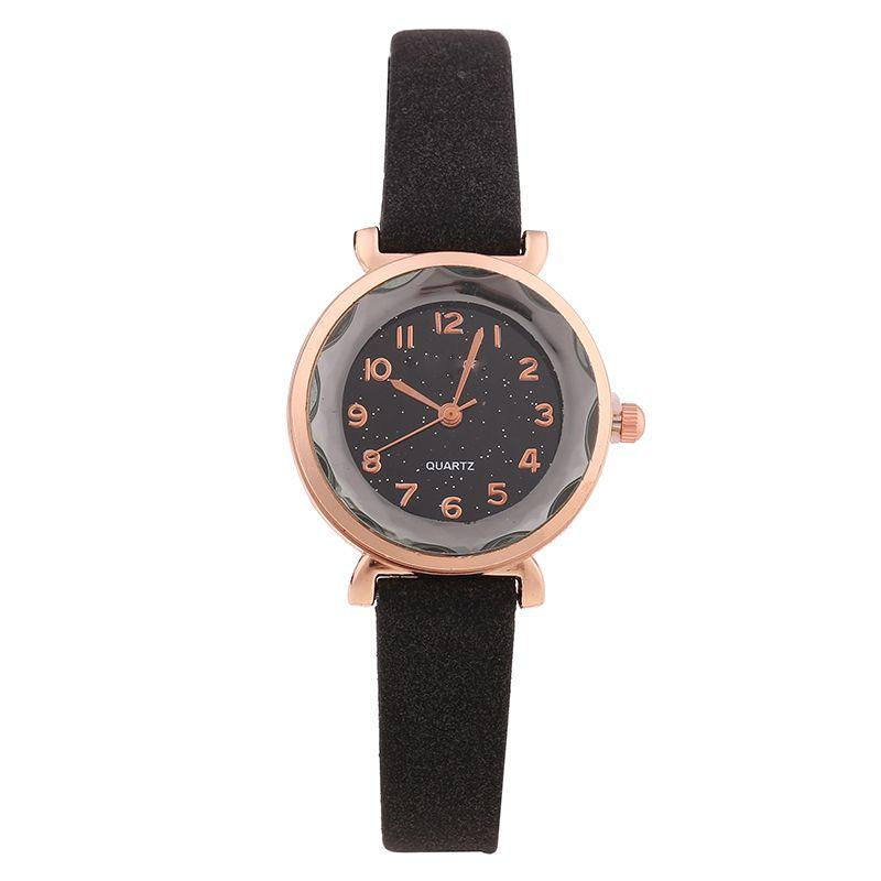 小八角女学生手表 小巧水钻时尚石英表