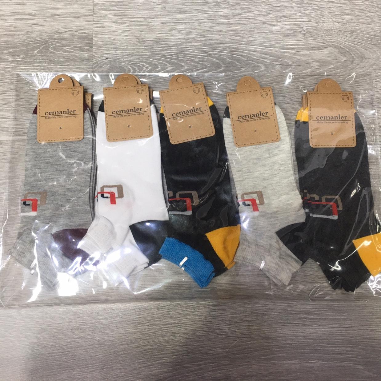 厂家直销批发春夏新款男士休闲船袜混装10双装
