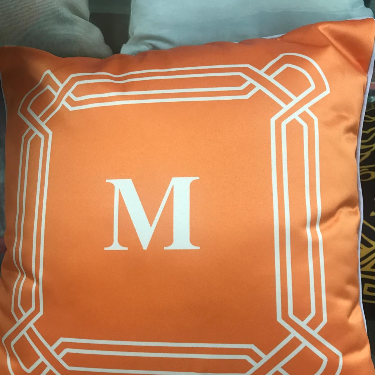 简约家居坐垫套亚马逊家居定制抱枕靠垫腰枕办公室广告靠枕