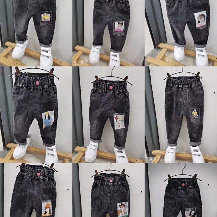 童裤2020秋冬新款女孩、男孩百搭时尚潮流裤子