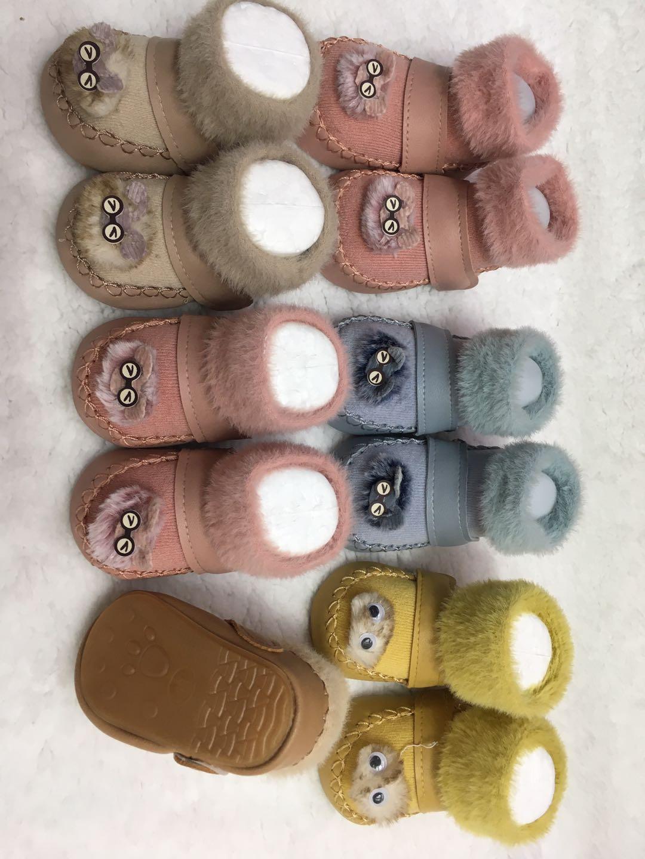 冬季婴儿鞋,学步鞋。一个款式5-6色,驼色  鹅黄  蓝色  橡皮色