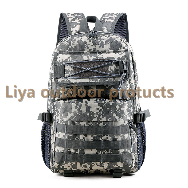 户外多功能战术包军迷野营特训军训装备双肩包军迷大容量旅行登山休闲双肩背包