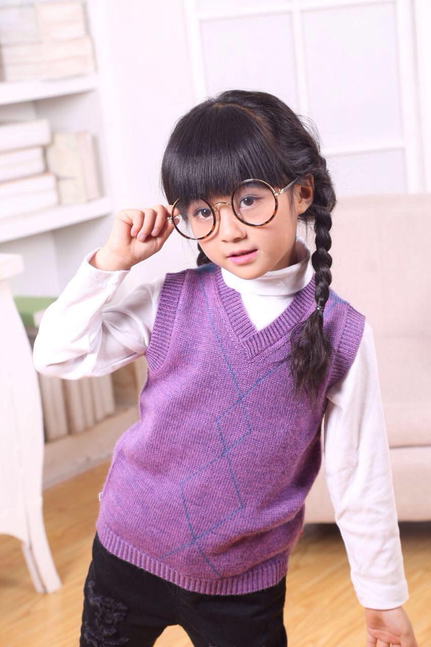亿爱尚秋冬羊毛羊绒保暖韩版儿童毛衣童装29羊毛衫