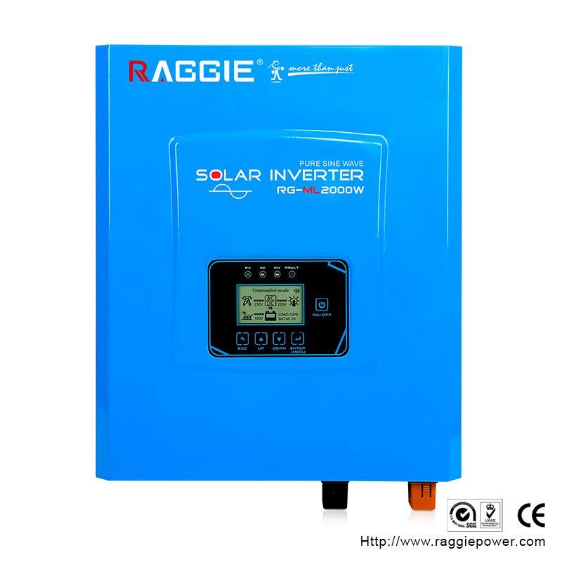 厂家直销离网逆变器,工频纯正弦波逆变器内置MPPT,ML-2000W 24V