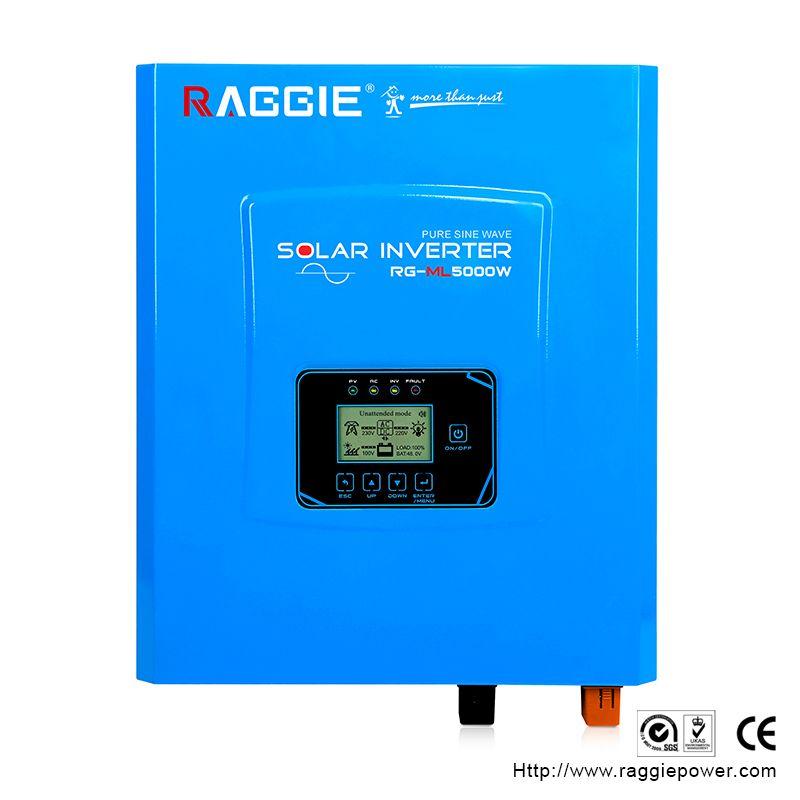 厂家直销离网逆变器,工频纯正弦波逆变器内置MPPT,ML-5000W 48V