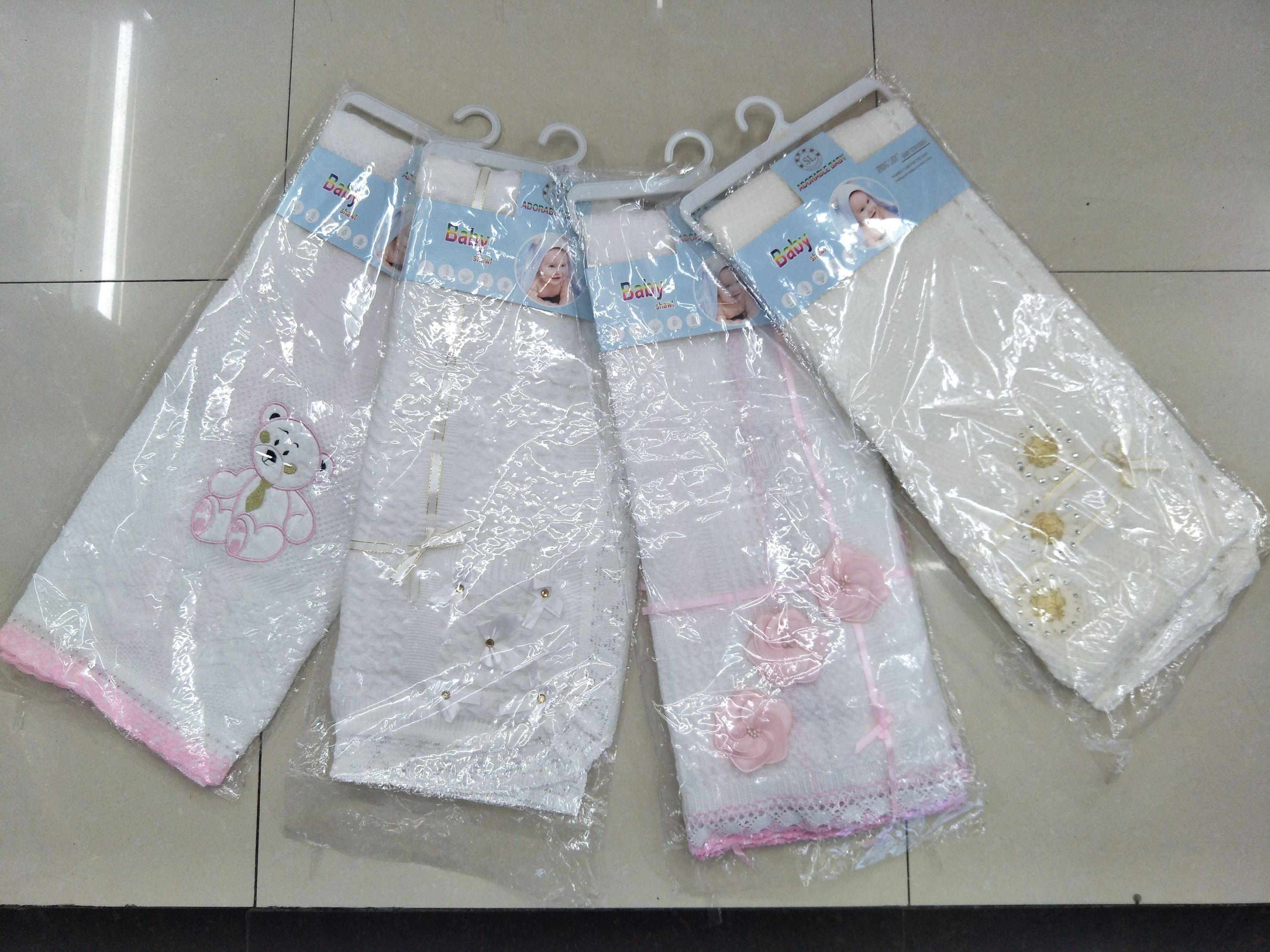 SPRING LADY 非洲热卖款婴儿线毯抱毯