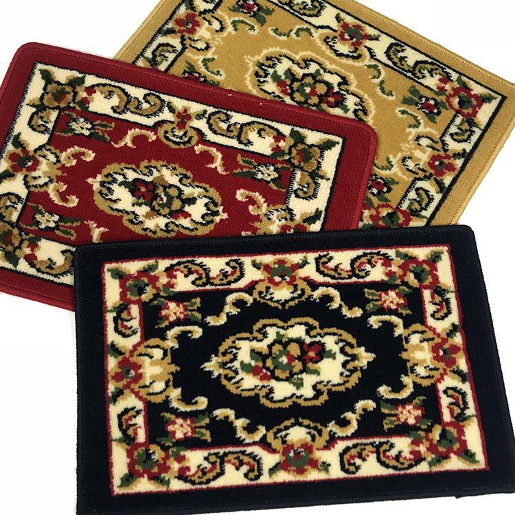 丙纶地垫 威尔顿 机织欧式古典地毯客厅卧室茶几垫大块毯门厅垫子