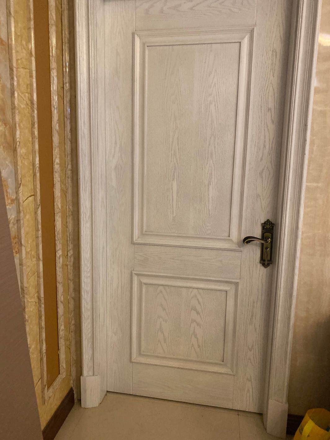 强派厂家直销木门大气简约卧室门户外门防盗防窃