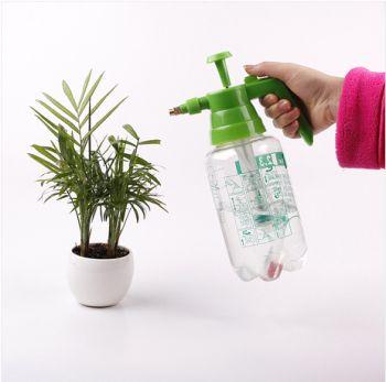 供应便携式优质气压透明喷雾器2L-B,PET塑料瓶,园林工具,喷头