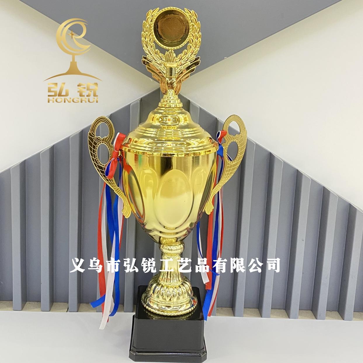 HR-855A金属奖杯16*53CM活动比赛竞技奖励奖杯可定制logo