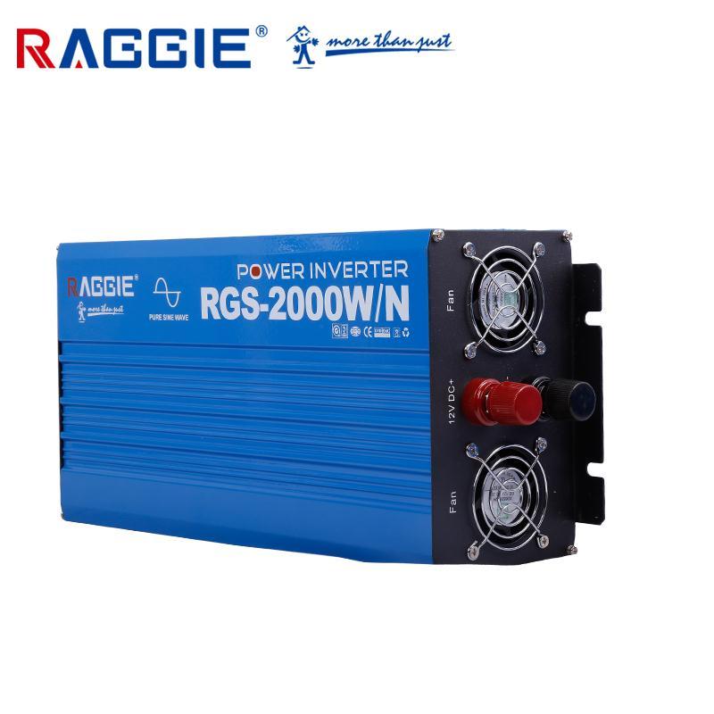 厂家直销纯正弦波逆变器,带彩色显示屏 RGS-2000W/N 12V-110/220V