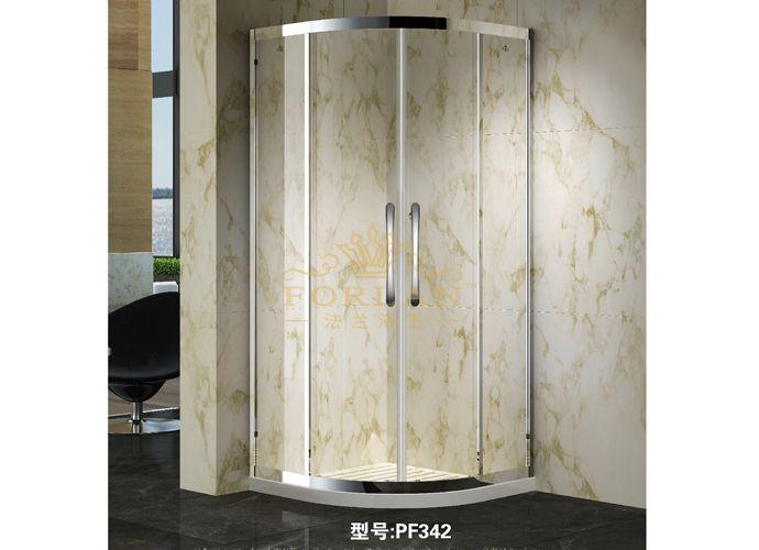 法兰浴王PF系列热销淋浴门安全环保不留指纹淋浴门平方计价