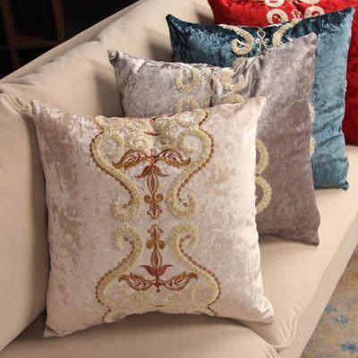 奢华抱枕欧式经典沙发靠垫抱枕靠枕客厅沙发床头靠垫飘窗可拆洗