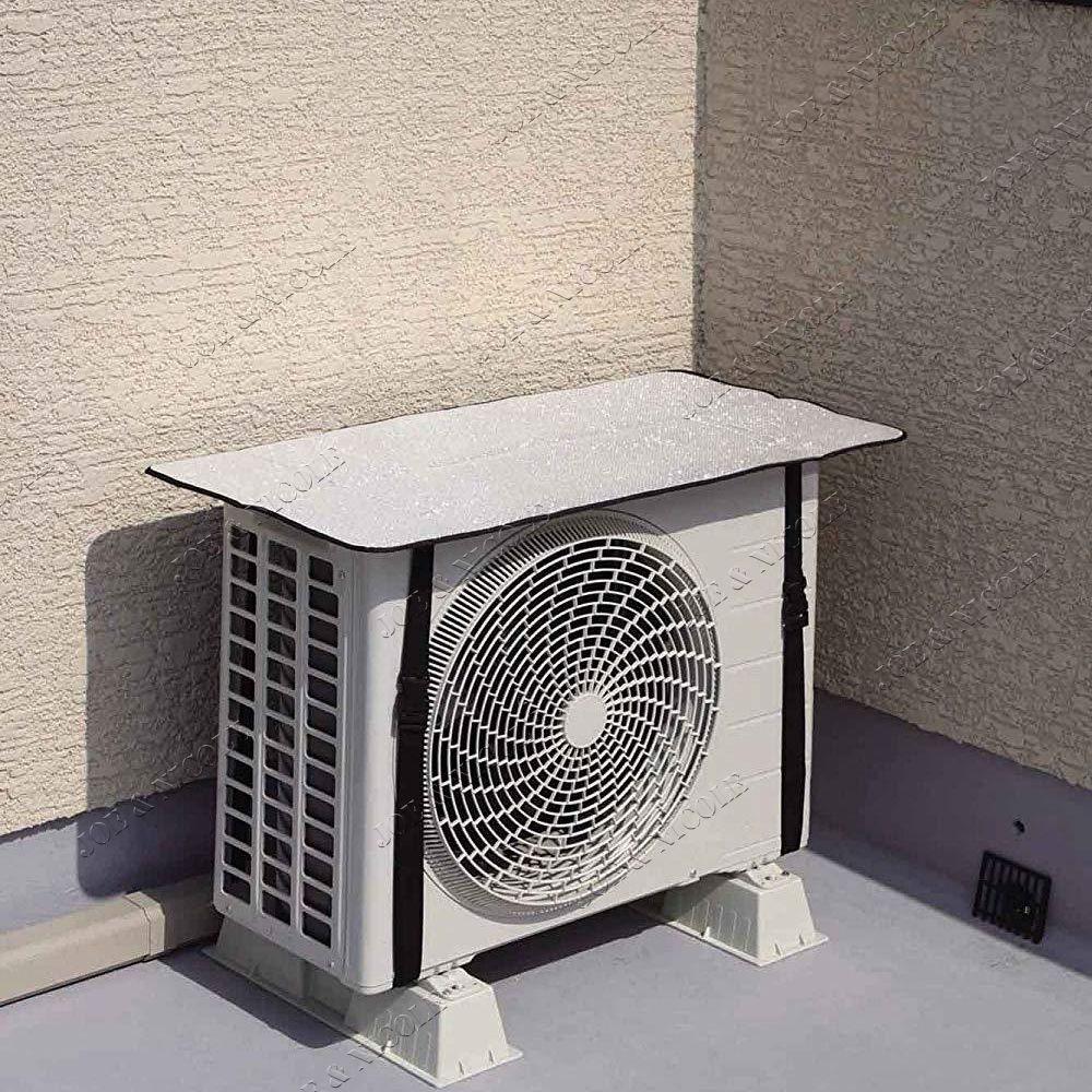 空调室外罩防晒挡,室外机防尘罩,室外机防晒遮阳挡