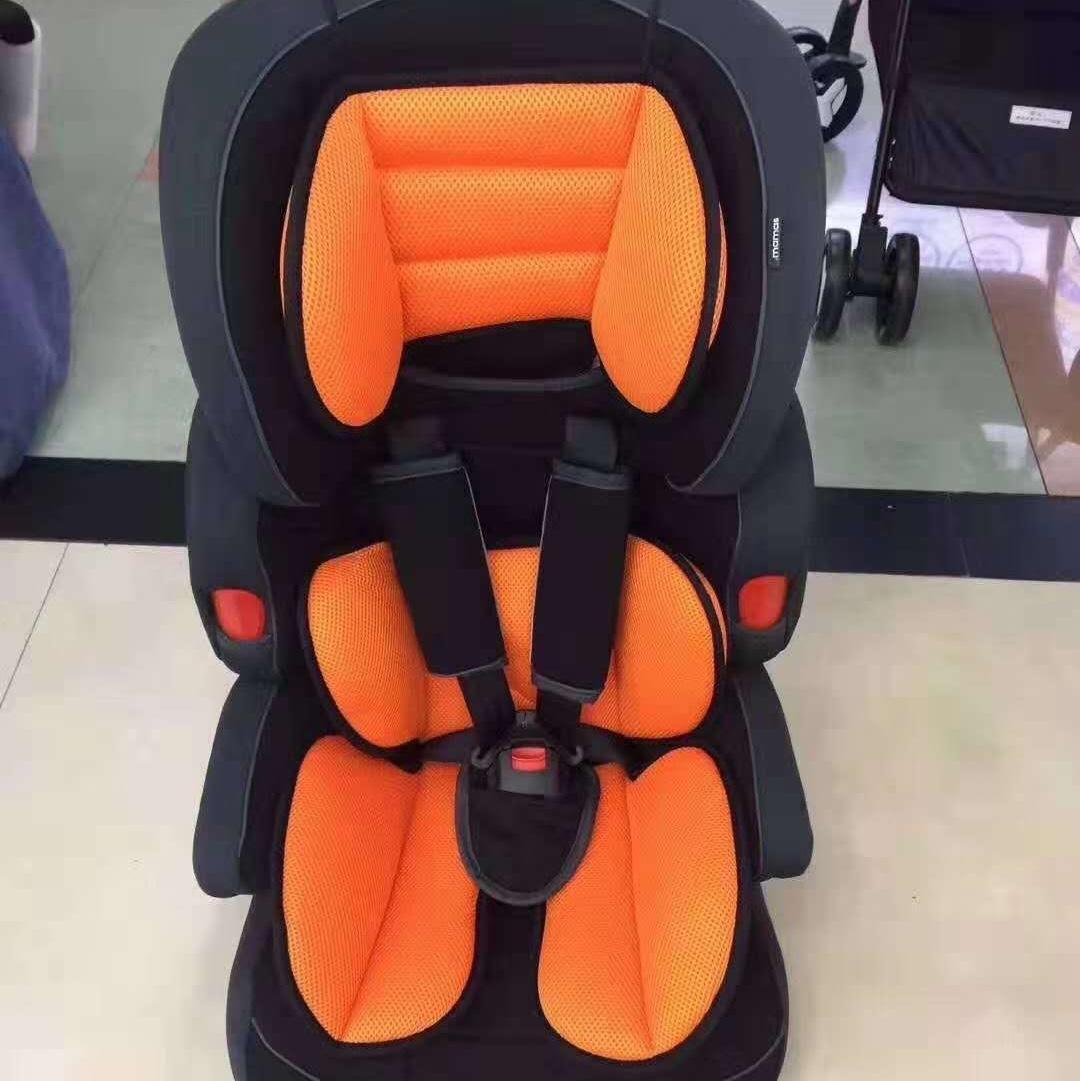 儿童安全座椅橘色汽车用品 / 安全/应急/自驾 / 汽车儿童安全座椅