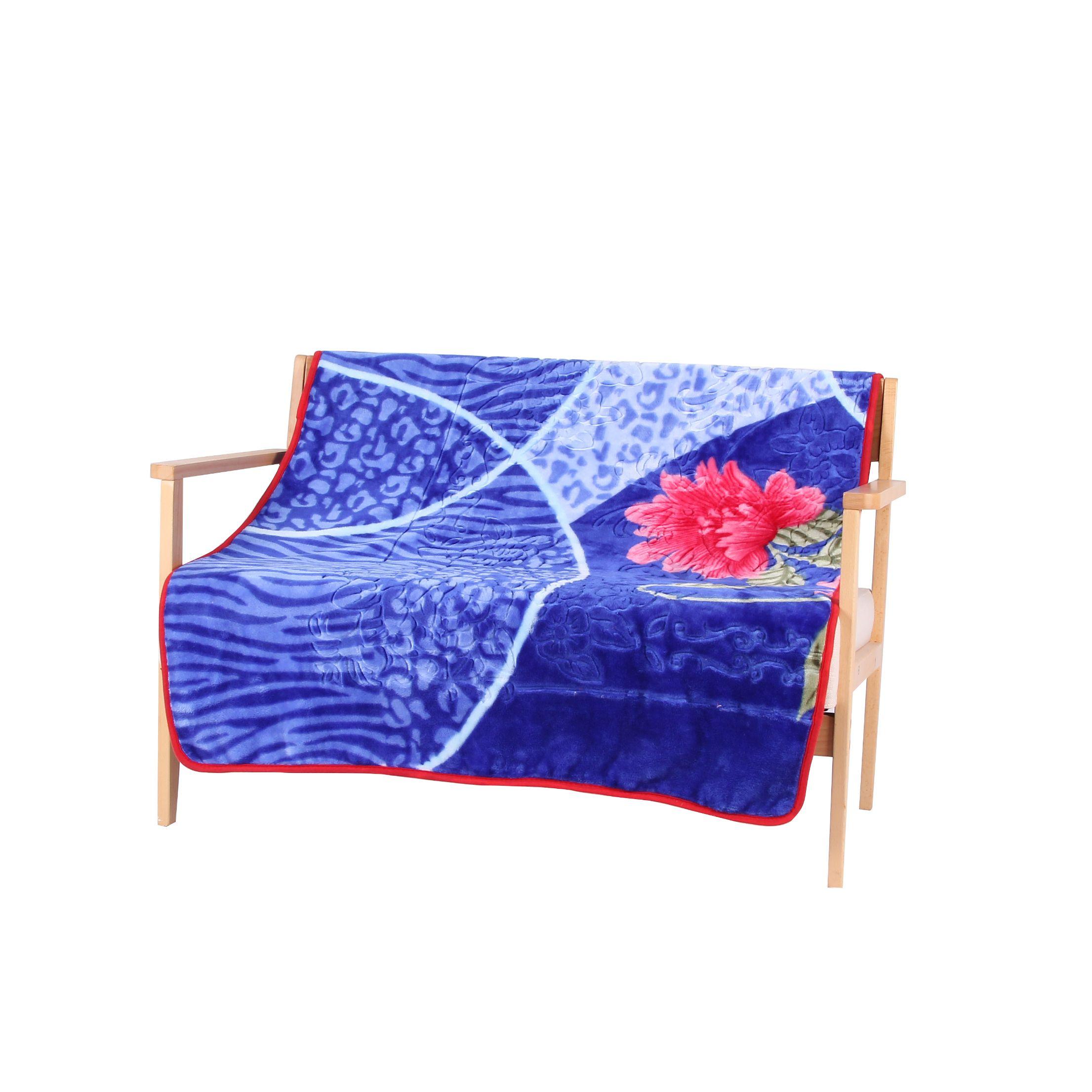 100120单层毛毯