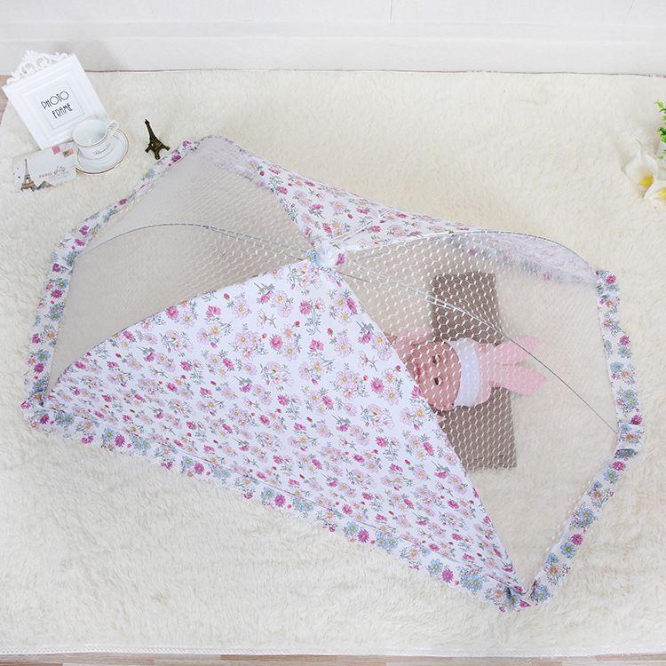大婴儿罩婴儿蚊帐折叠婴儿伞罩印花食物罩 婴儿罩厂家直销