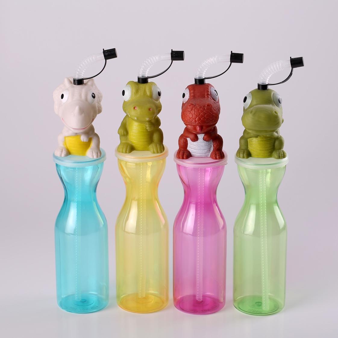 卡头动物塑料水杯儿童水杯