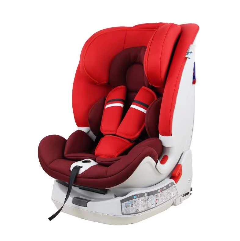 儿童安全座椅大红色汽车用品 / 安全/应急/自驾 / 汽车儿童安全座椅
