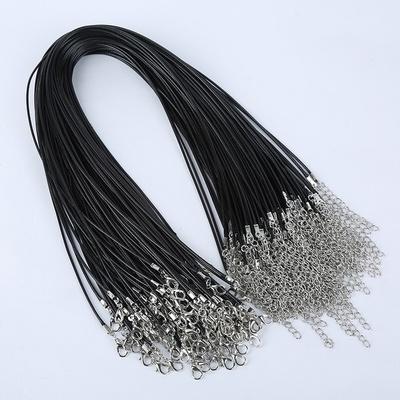 1.5mm黑色蜡线绳 45cm