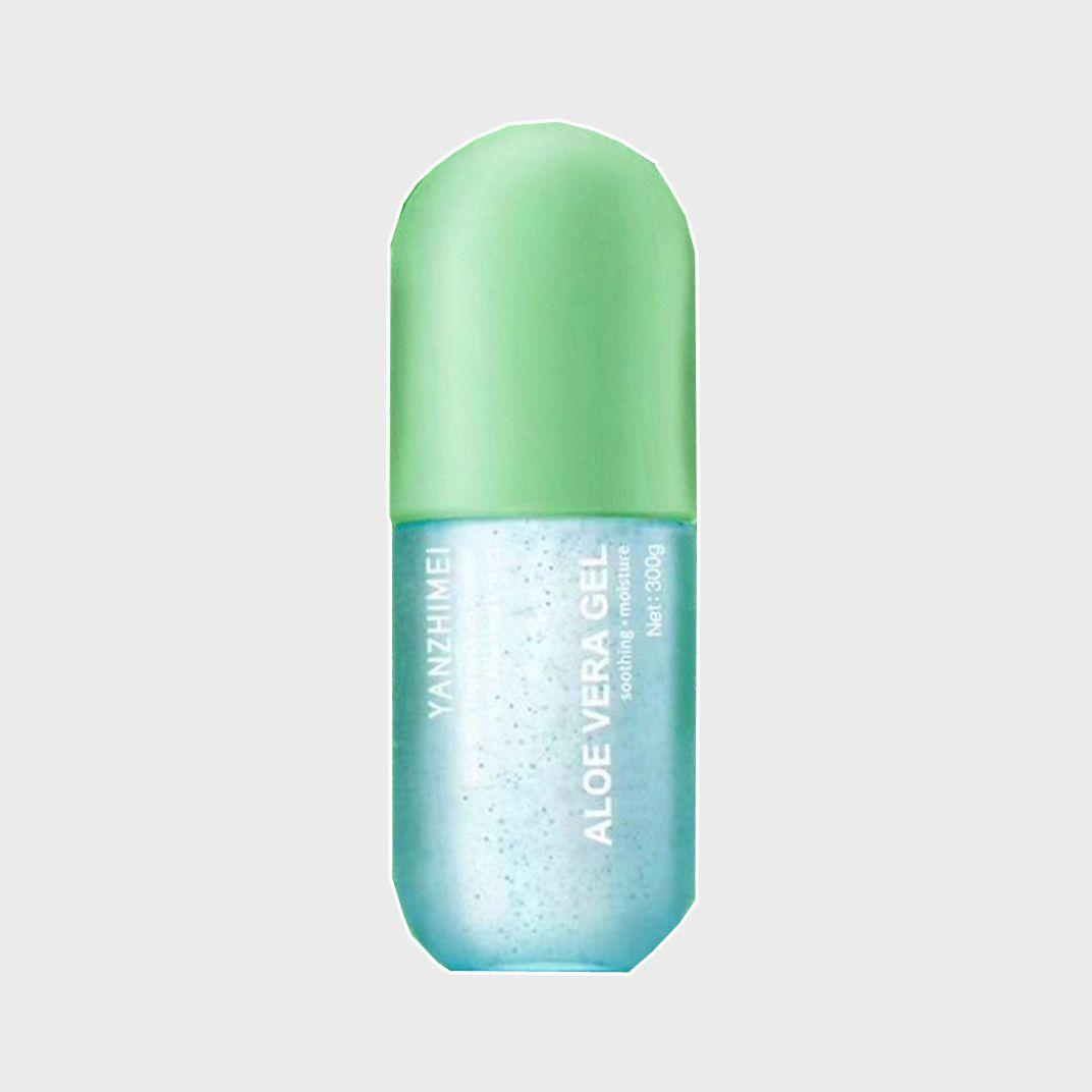 颜之美芦荟胶凝缩精华型温和舒缓修护肌肤