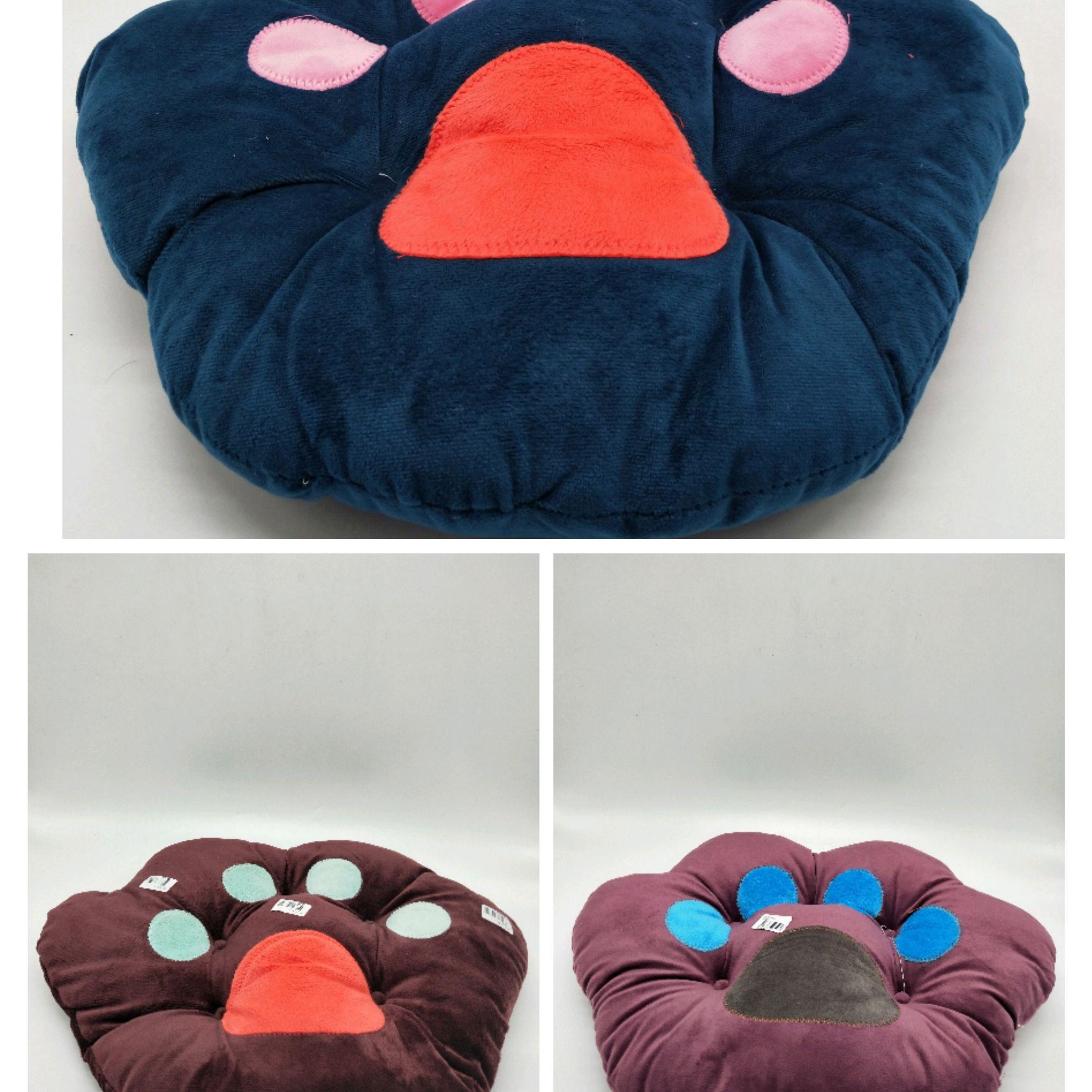 秋冬季可爱卡通熊掌坐垫椅子垫