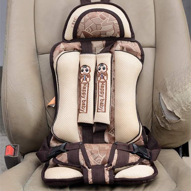 儿童安全座椅卡其色汽车用品通用版批发汽车用品 / 座垫脚垫 / 专车专用座套