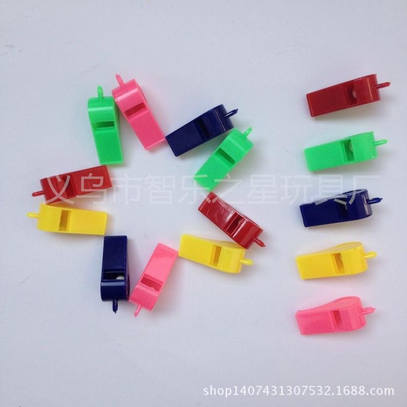 塑料口哨 彩色哨子金属 足球 野外求生球迷肋威道具赛事裁判用品批发