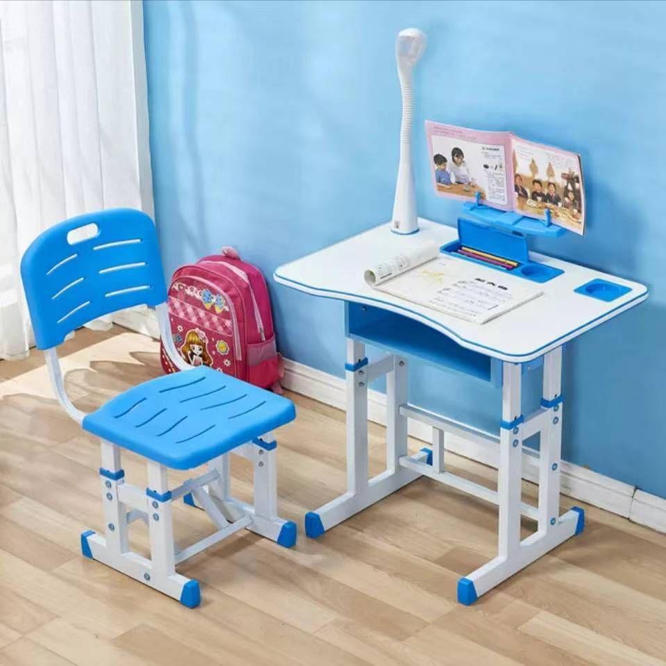 学生课桌椅儿童桌椅套装塑料家用学习桌学校机构培训辅导补习班桌